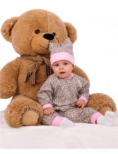 """Комбинезон с манжетами для малышей """"Леопард"""""""